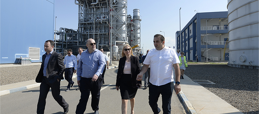 Natia Turnava Examined Gardabani Thermal Power Plants – 26.07.2019