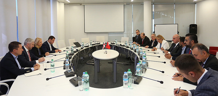 Natia Turnava Met Turkey-Georgia Business Council Representatives - 21.08.2019
