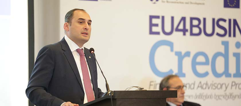 Dimitry Kumsishvili Introduced Achievements in Small and Medium Size Enterprises Promotion to EU Delegation - 22.03.2018